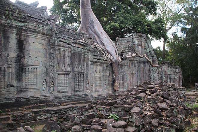 Preah Khan est un des temples d'Angkor
