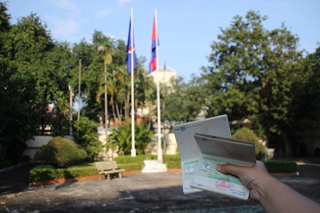 Faire son visa pour le Cambodge à Ho Chi Minh