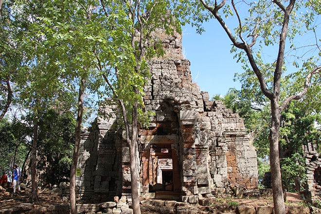 Wat Banon à Battambang