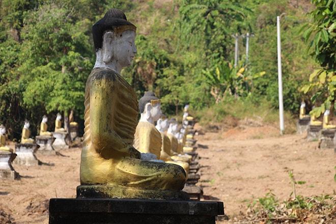 Lumbini Garden le jardin aux 1000 bouddhas à Hpa An