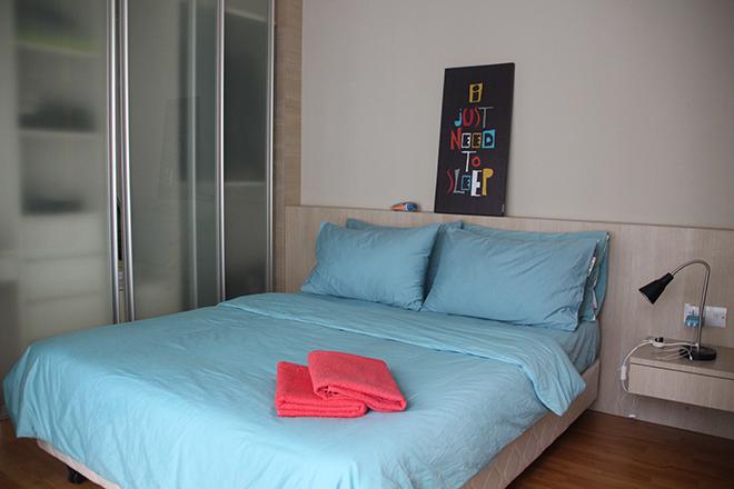 Appartement Kuala Lumpur chambre
