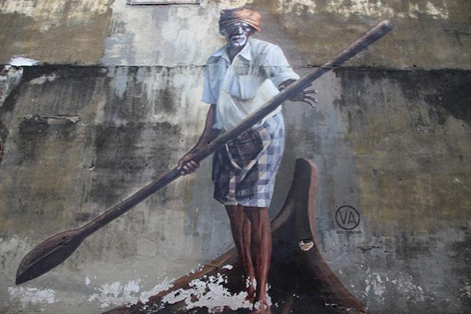 Batelier Street Art Penang Malaisie