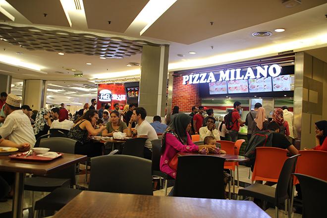 Foodcourt Suria Petronas Kuala Lumpur