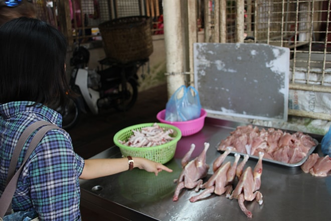 Foodtour Penang marché