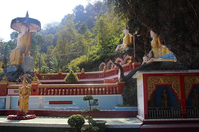 Kaw Ka Taung Cave à Hpa An