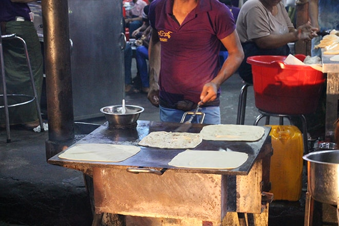 Street food indien mandalay