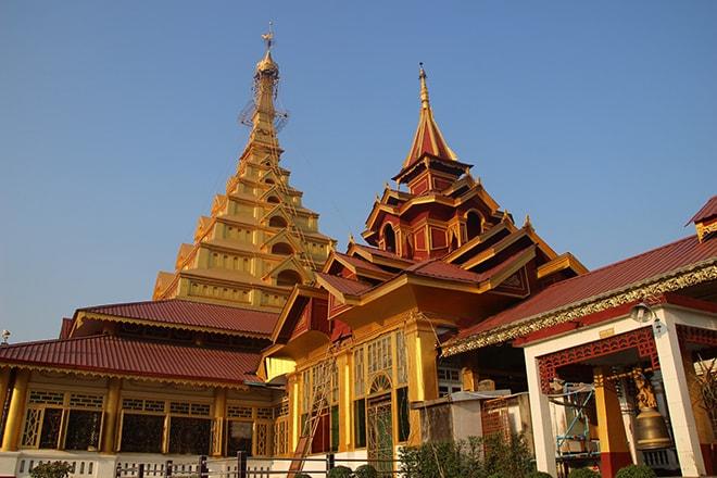 Maha Muni Pagoda à Mawlamyine