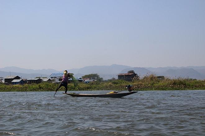 Peche lac Inle Birmanie