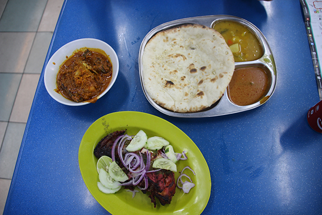 Repas Indien Kuala Lumpur