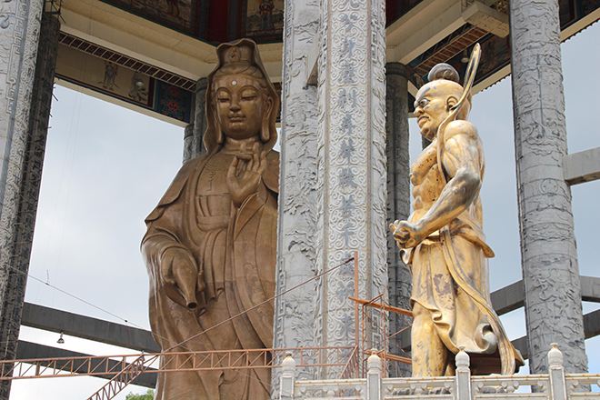 Statue Kek Lok Si Temple