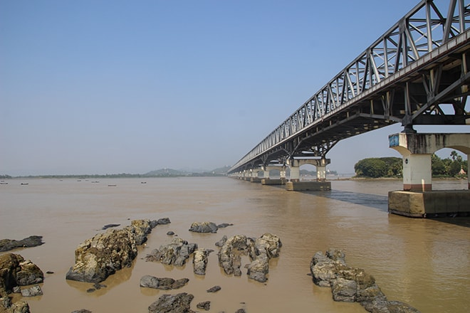 Thanlwin Bridge Mawlamyine