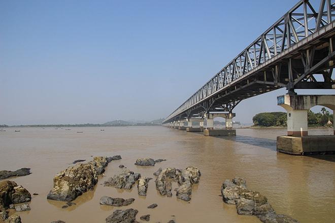 Thanlwin Bridge Mawlamyine