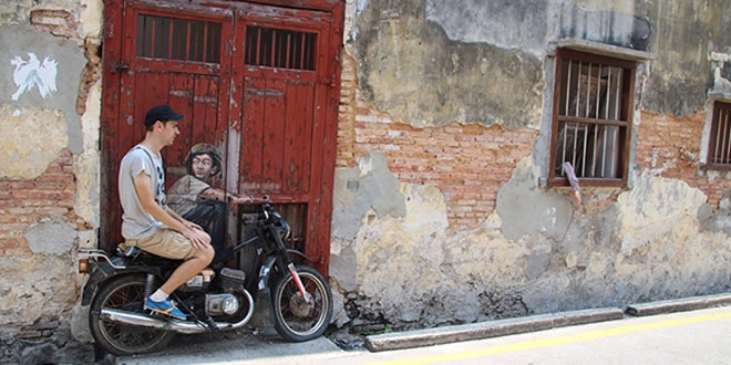 Georgetown à Penang, Street-Art et gastronomie !