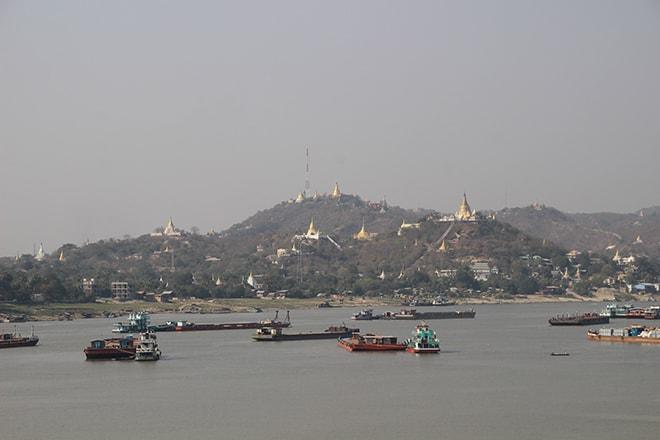 L'ancienne capitale royale Sagaing