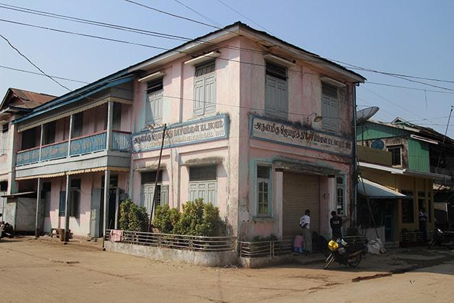 Centre-ville de Mawlamyine