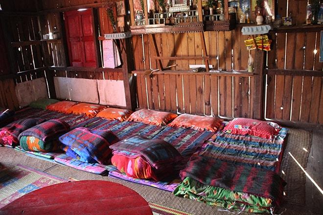 Chambre trek kalaw lac inle