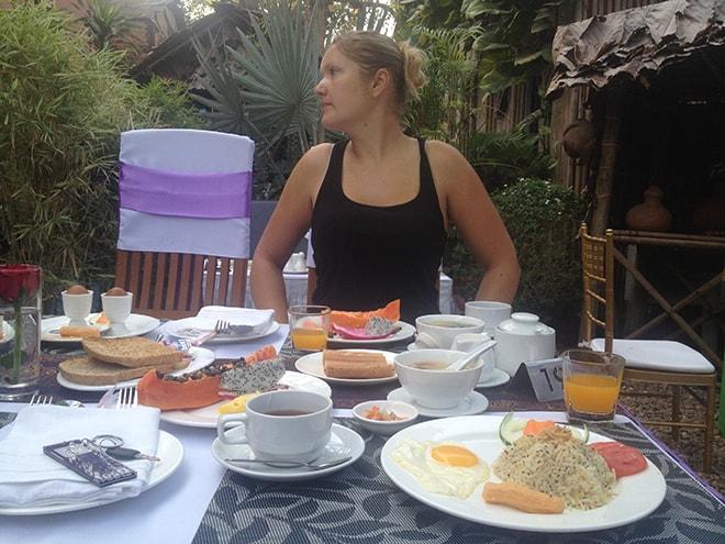 Cinderella hôtel petit-dejeuner