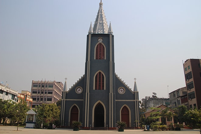 Eglise Mandalay