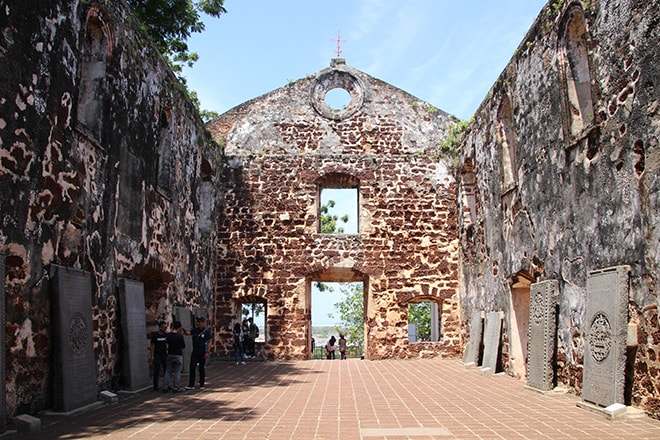 Eglise Saint Paul Malacca