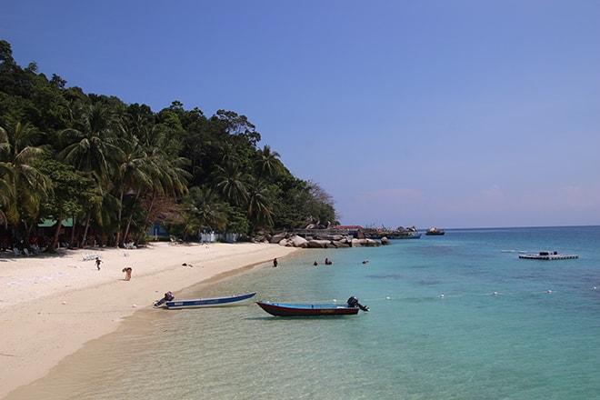 Plage îles Perhentian en Malaisie