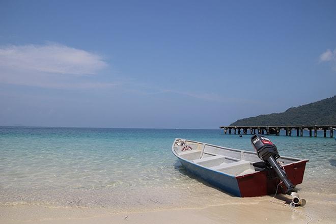 Plage paradisiaques îles Perhentian en Malaisie