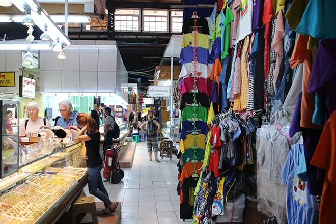 Le marché de Bogyoke à yangon