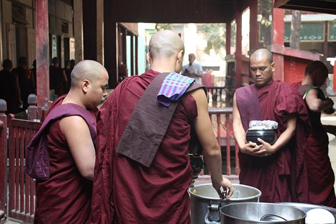 monastère Mahagandhayon à Amarapura