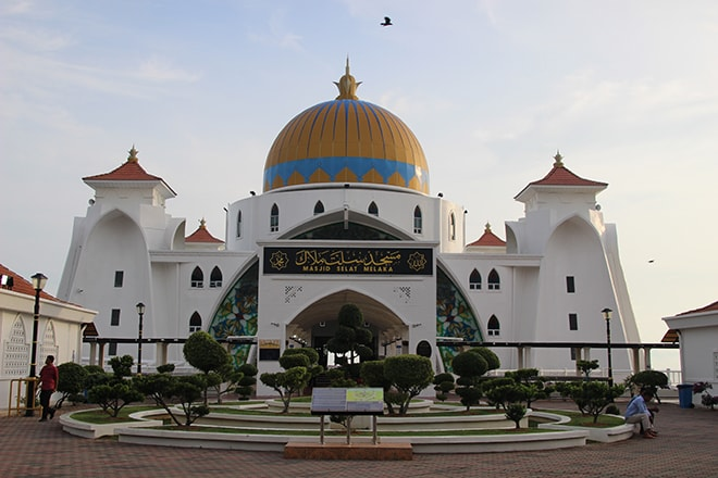 Mosquée Strait Malacca
