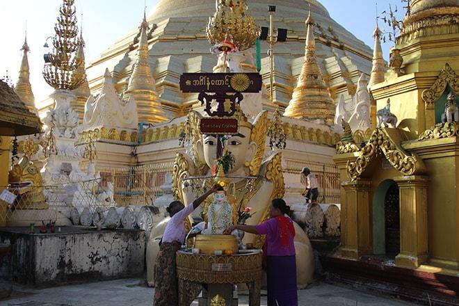 pagode Shwedagon yangon