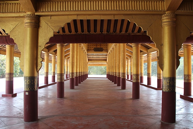 Le Palais Royal à Mandalay