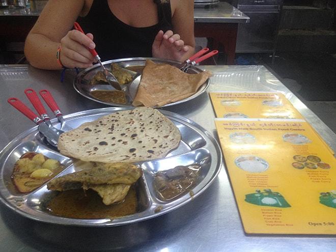 Restaurant indien à Yangon