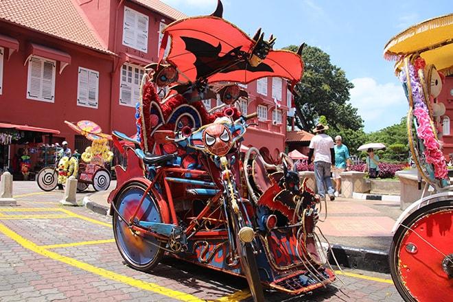 Rickshaw Malacca