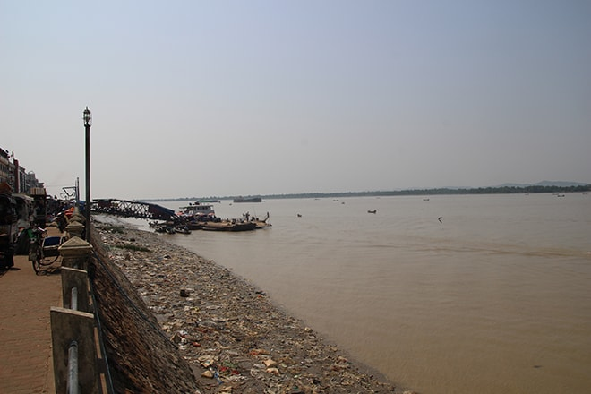 La rivière Salween à Mawlamyine
