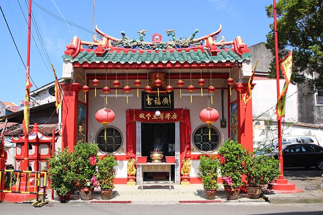 Temple chinois Malacca