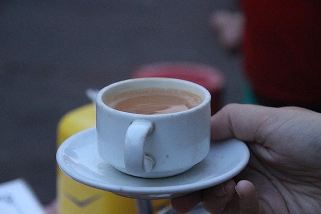 thé birman à yangon
