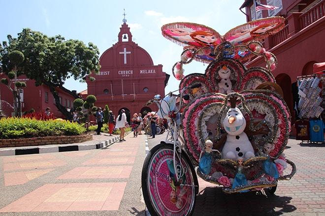 Unesco Rickshaw Malacca