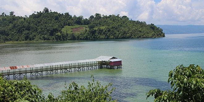 2 jours à Tentena aux bords du lac Poso dans le centre de la Sulawesi