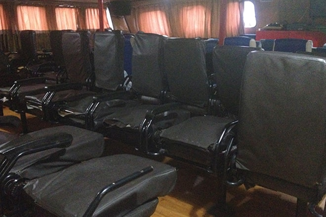 Business class ferry Gorontalo Wakai iles Togian rejoindre les îles Togian