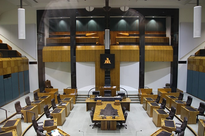 Chambre Parlement Darwin Australie