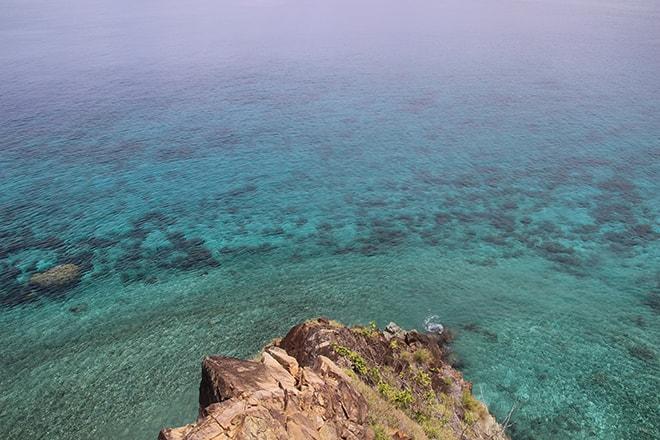 Coraux vue haut Tumbak