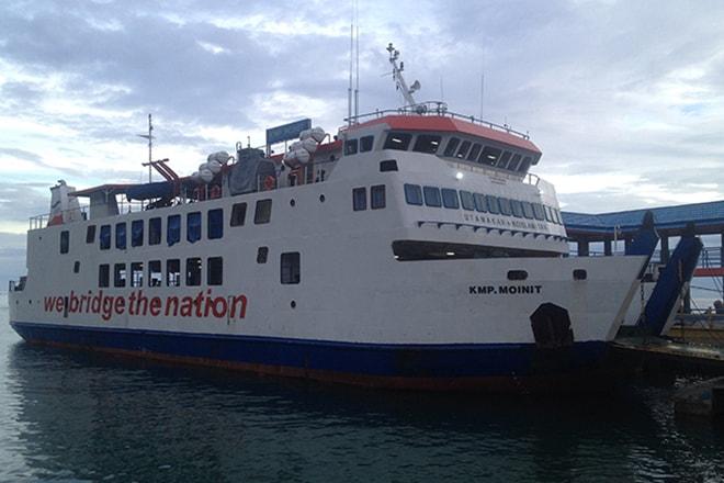 Ferry Gorontalo Wakai iles Togian