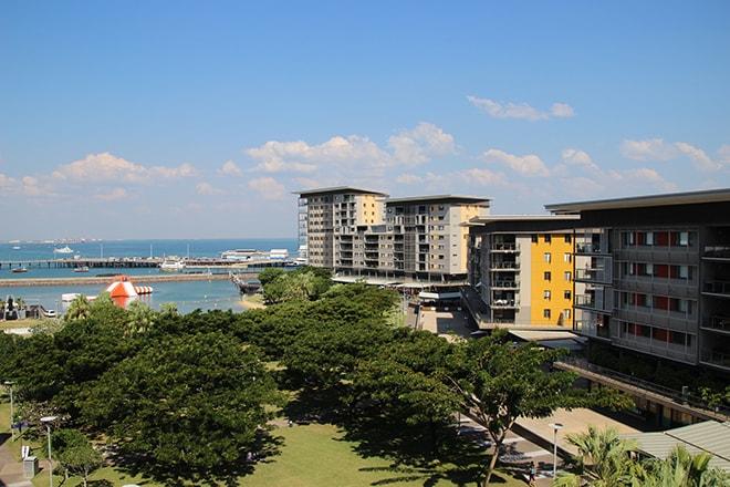Front de mer Darwin Australie