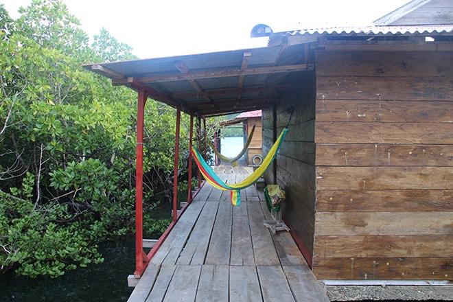 Hamacs et terrasses arrières Tumbak