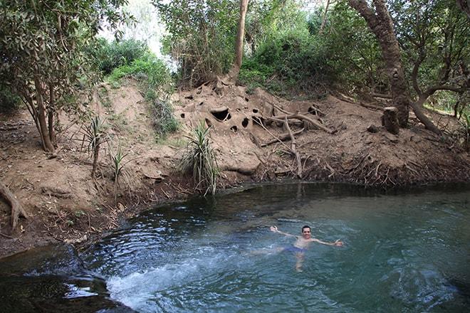 Katherine Hot Springs Katherine-Australie-Northern Territory