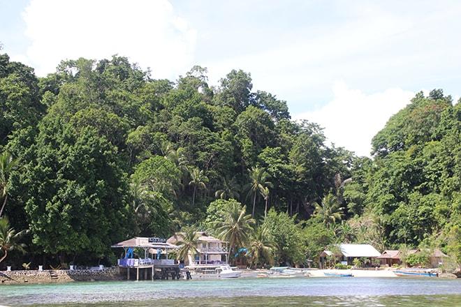 Lagon du Black Marling Dive Resort Kadidiri iles Togian où dormir dans les îles Togian