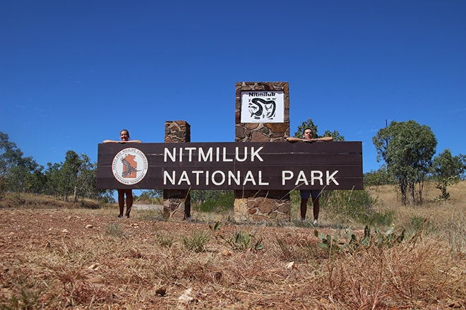 Nitmiluk national Park Katherine-Australie-Northern Territory