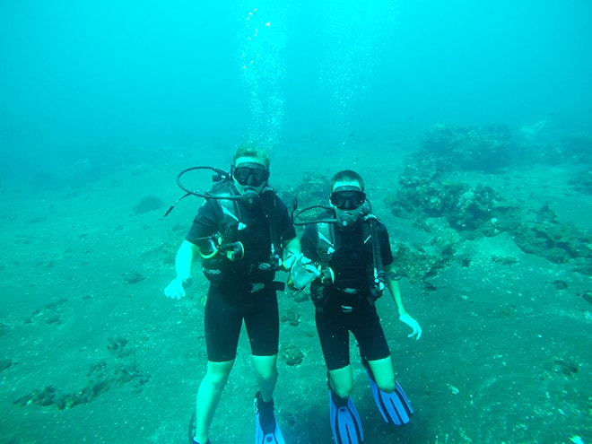 Nous plongee Siddhartha Tulamben