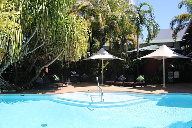 Piscine Palms City Resort Darwin Australie