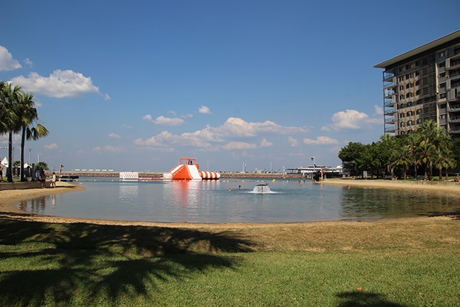 Recreation Lagoon Darwin Australie