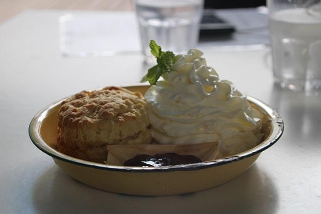 Scone eva cafe Darwin Australie